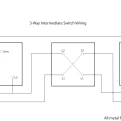 Two Way Wiring Diagram Typical For A House Varilight Diagrams