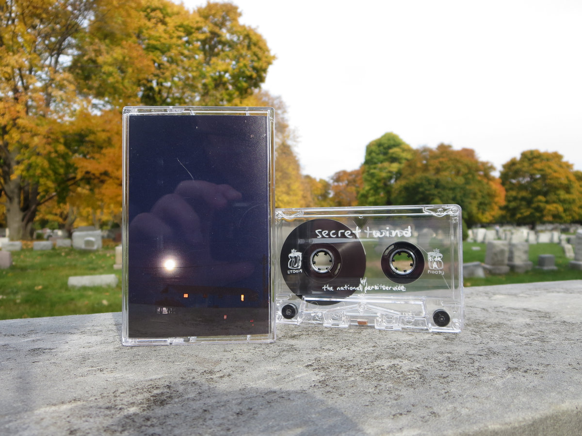 photo of secret wind cassette tape