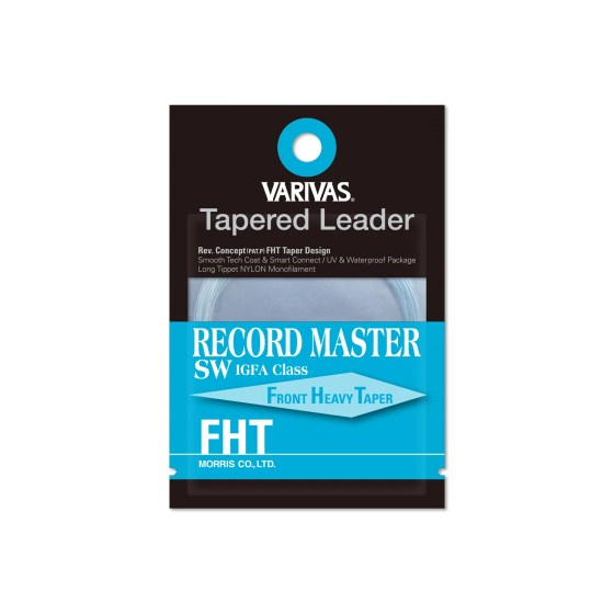 Tapered Leader RECORD MASTER SW FHT IGFA line