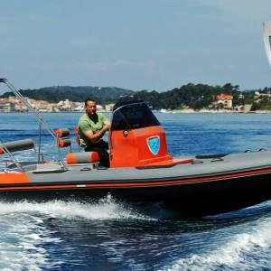 marin rib 646 VFI stepped hull
