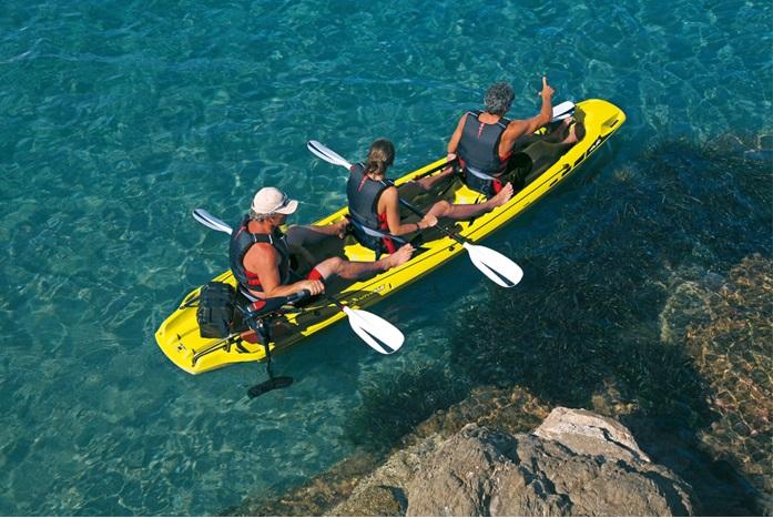 Τριθέσιο κανό καγιάκ BiC Kalao kayak