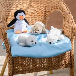Warmies polardjur säl och pingvin