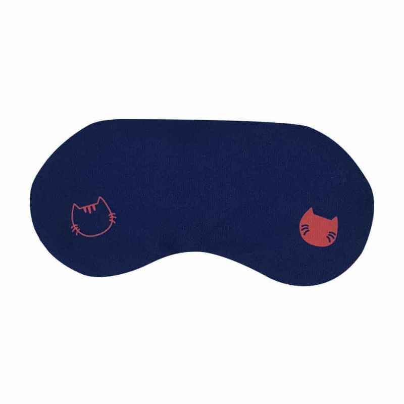 THWBS Rest & Relax Snuggle Cat Navy ögonmask