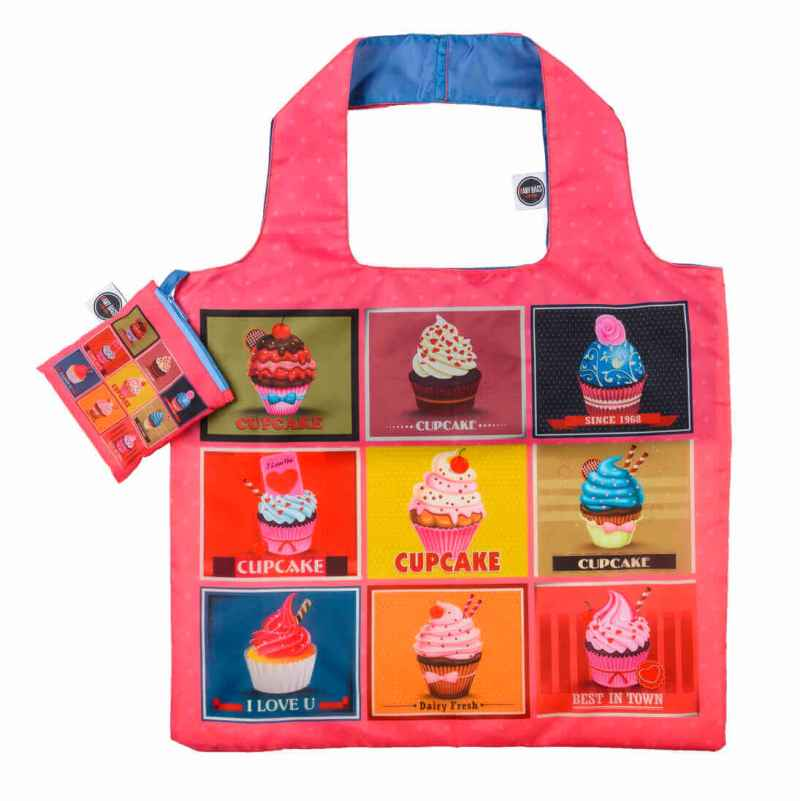 ANYBAGS shoppingkasse Cupcakes