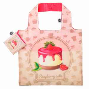 ANYBAGS shoppingkasse Raspberry Cake