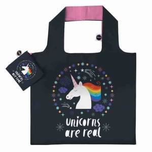 ANYBAGS shoppingkasse Black Unicorn