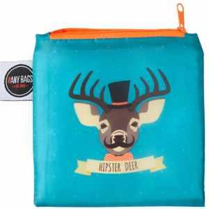 ANYBAGS shoppingkasse Hipster Deer - förvaringspåse