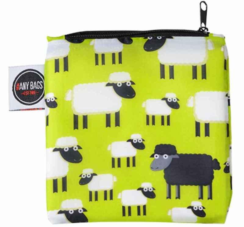 ANYBAGS shoppingkasse Bla ck Sheep - förvaringspåse