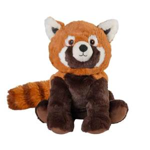 Warmies röd panda - värmedjur framsida