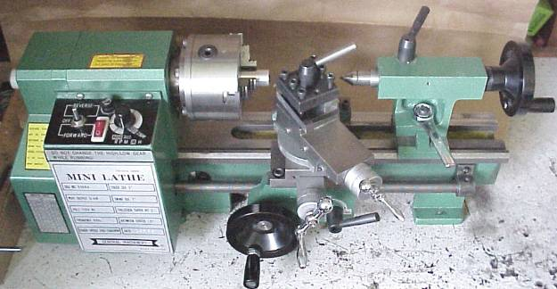 Harbor Freight Mini Lathe Modifications