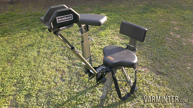 Idleback Shooting Chair Review with Hunt Clips
