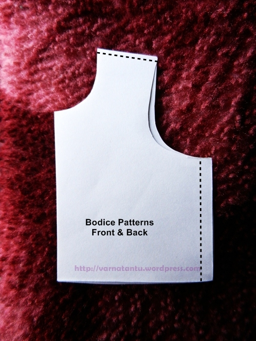 Bodice Pattern Front & Back
