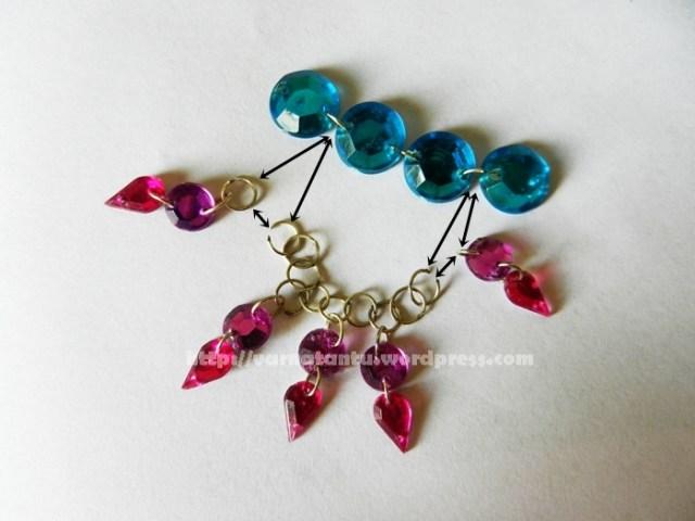 Kundan Necklace Centre Piece Making