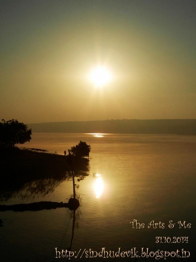 An Unforgettable Memorable Sunrise near Belagavi