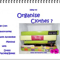 Easily Organise Drawerless Clothes Cupboard
