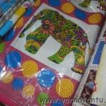 Bedspreads and pillowcases in Handloom at Khadi Utsav