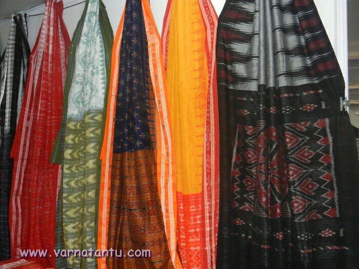 Ikkat saris from Cuttack