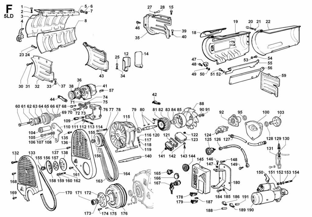 Lombardini 5ld 930-3, spare parts, lombardini 5ld 930-3