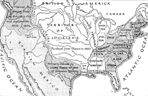 The United States in 1812