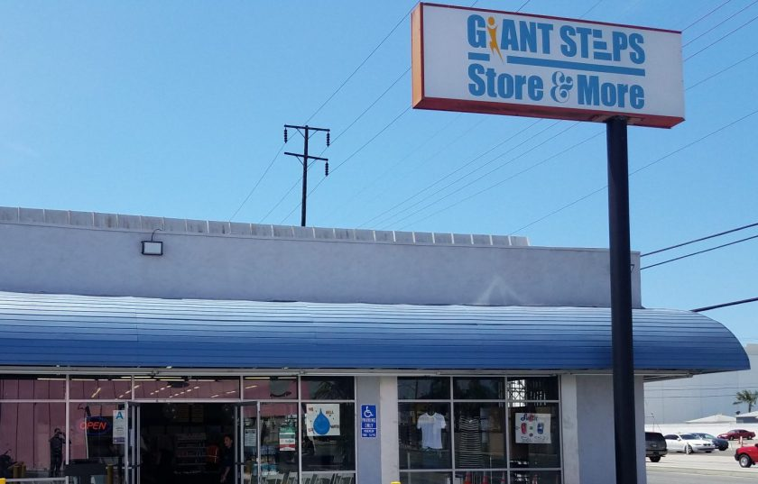 Giant Steps Retail Store and Training Facility on Crenshaw Blvd