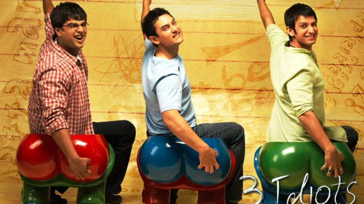 3 idiots scratching their bums