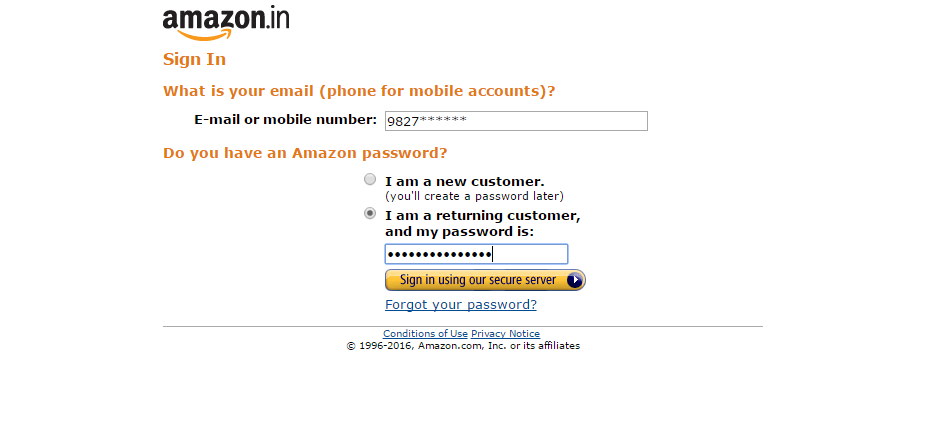 amazon affiliate sign-in