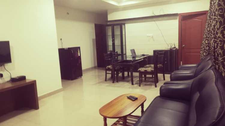 One Big Empty Apartment