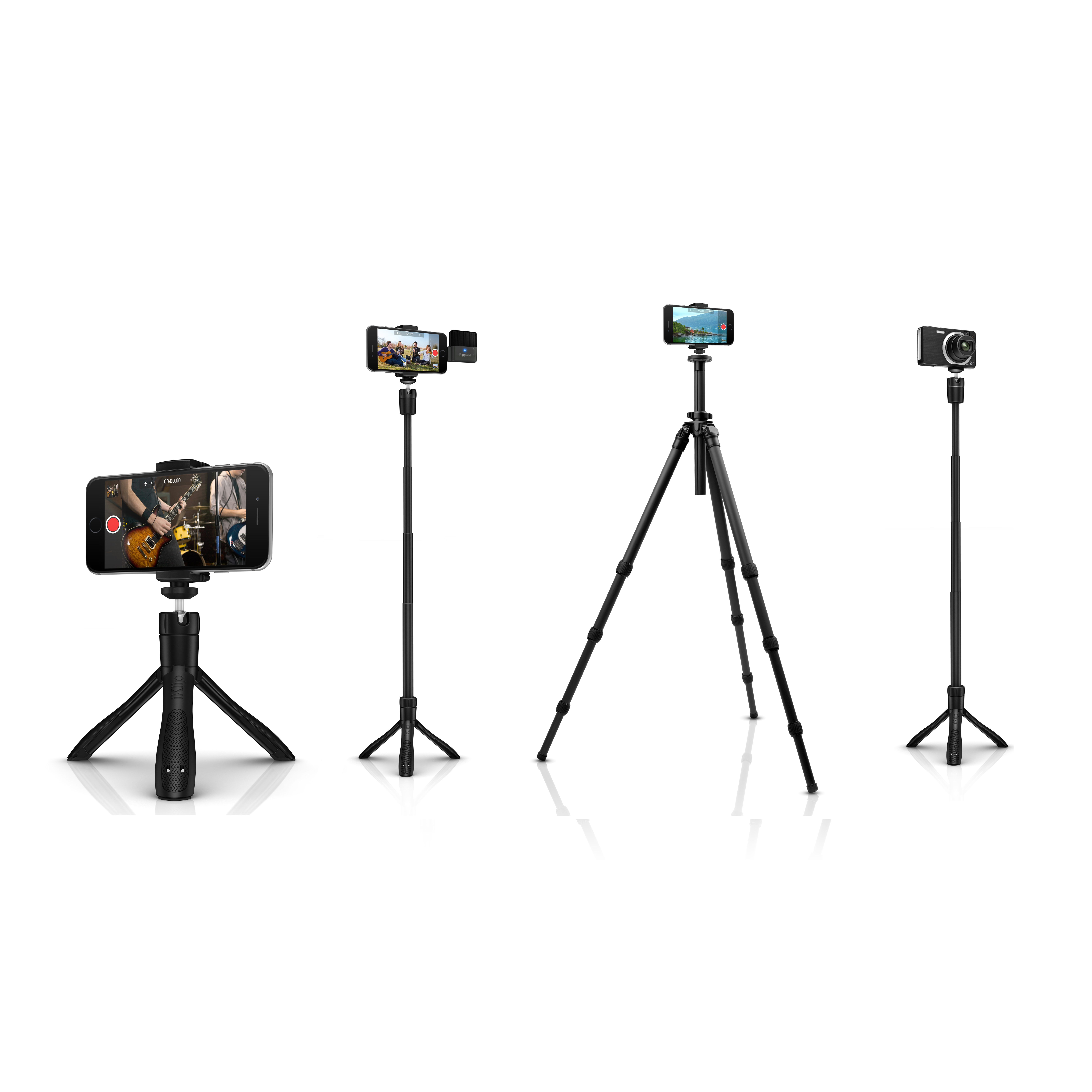 ik multimedia iklip grip pro iphone amp camera stand