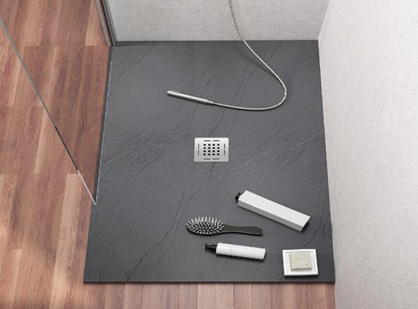 Doccia a filo pavimento: una scelta di design