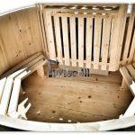 Hot tub in legno Basic siberiano abete rosso, larice