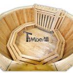 Vasca Tinozza legno Deluxe siberiano abete rosso, larice - TimberIN