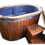 Hot tub Ofuro per 2 persone in vetroresina