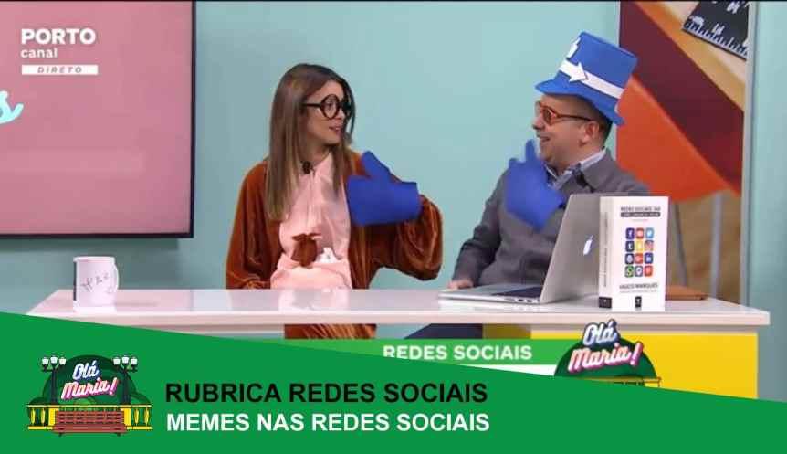 memes redes sociais ola maria vasco marques