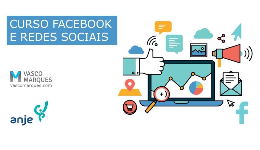 facebook e redes sociais anje