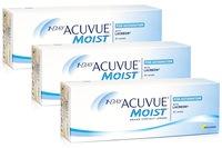 Johnson & Johnson 1-DAY Acuvue Moist for Astigmatism (90 φακοί) Ημερήσιοι Μυωπίας Υπερμετρωπίας Αστιγματικοί