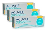 Johnson & Johnson Acuvue Oasys 1-Day with HydraLuxe for Astigmatism (90 φακοί) Ημερήσιοι Μυωπίας Υπερμετρωπίας Αστιγματικοί