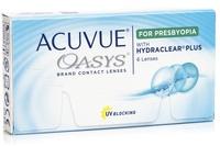 Johnson & Johnson Acuvue Oasys for Presbyopia (6 φακοί) Δεκαπενθήμεροι Μυωπίας Υπερμετρωπίας Πολυεστιακοί