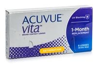 Johnson & Johnson Acuvue Vita for Astigmatism (6 φακοί) Μηνιαίοι Μυωπίας Υπερμετρωπίας Αστιγματικοί