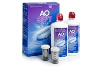 Alcon AOSEPT PLUS 2 x 360 ml με θήκες