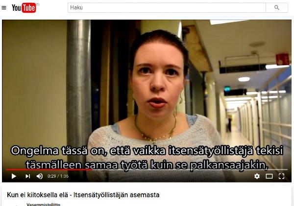 Vasemmistoliiton YouTube -kanavalta löytyy asiaohjelmaa seurattavaksi vaikka päiväkaupalla