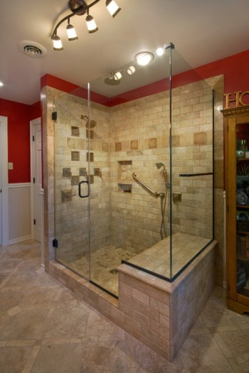 Parade Homes 2011 Richmond, Va Frameless Shower Door