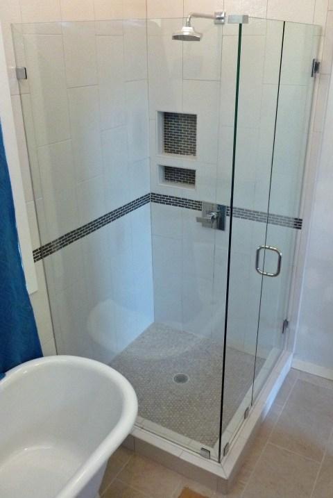 Frameless Corner Shower Richmond Va