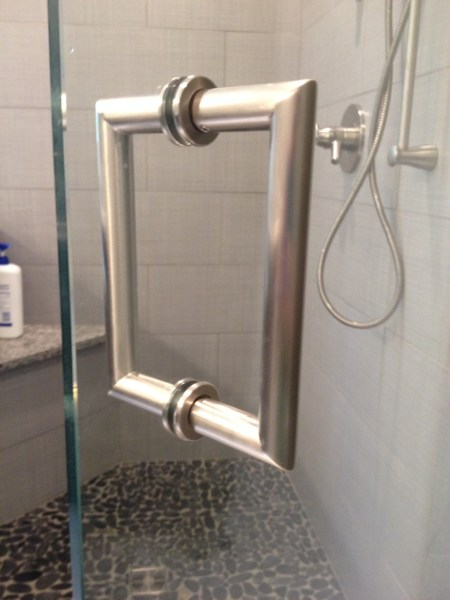 Square Handle  Brushed NIckel