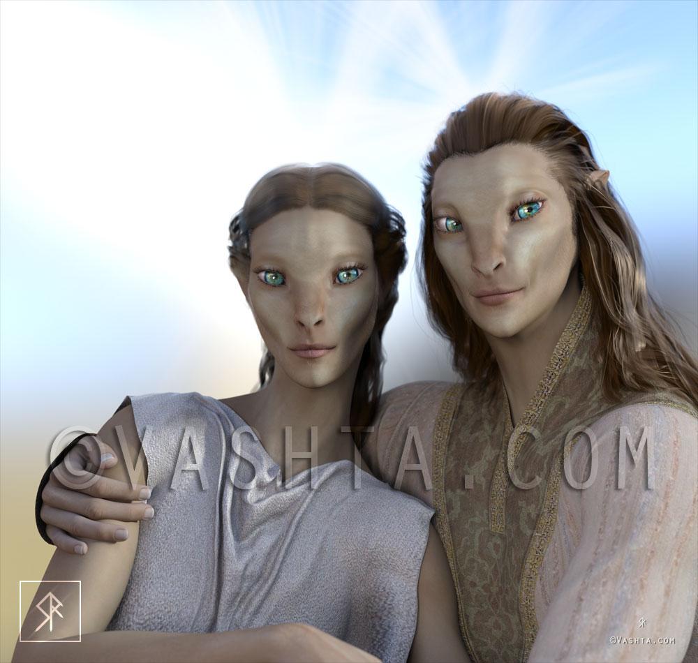 Aldanea and Asher