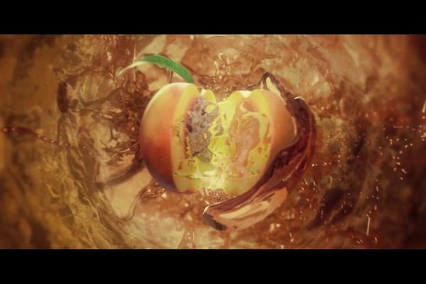 WE ARE featured image peach splash