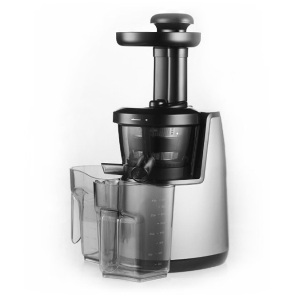 VASNER Juica cold press juicer stainless steel with its juice container