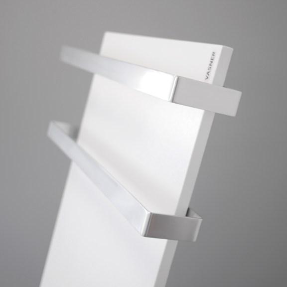 Seitenansicht der Infrarot Handtuchtrockner