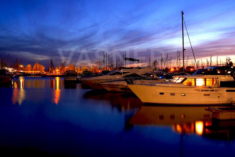 VASNER Infrarotheizung Bild Hafen Holland