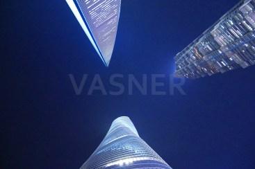 VASNER Panora Bildheizung Infrarot Shanghai Financial Tower