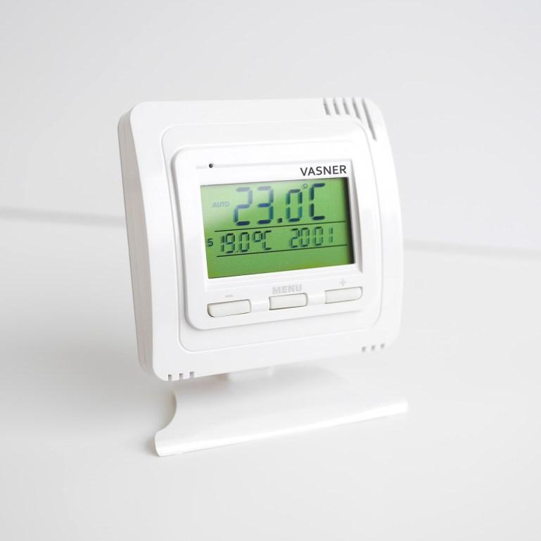Optimale Raumtemperatur im Wohnzimmer mit dem VFTB Funk Thermostat